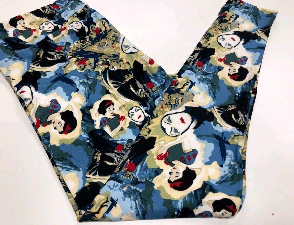 39c1881b7ee81 Lularoe DISNEY Snow White Evil Queen Poison Apple Villains leggings OS  Unicorn #fashion #clothing #shoes #accessories #womensclothing #leggings  (ebay link)
