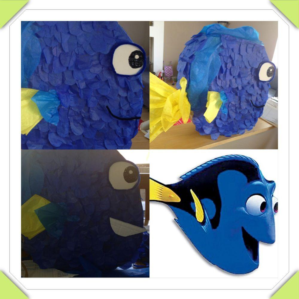 Piata Dory Finding Nemo Creations Birthday