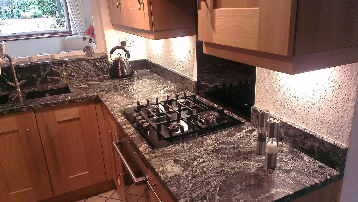 Granite Kitchen Worktop Silver Forest Natural Granite Kitchen Worktops Our Kitchen