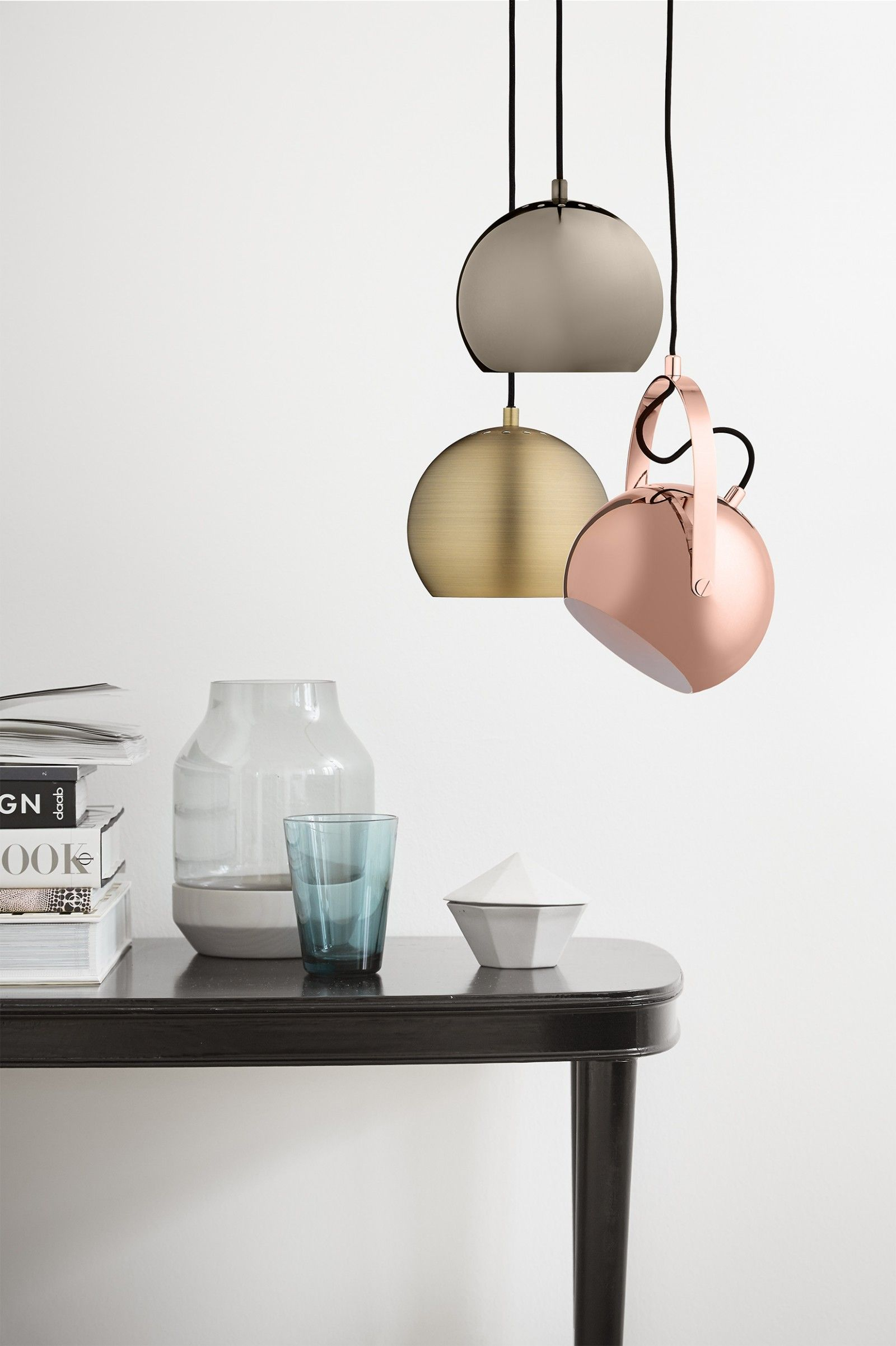 Lights & Lustra Ball W Handle Copper Glossy la 69400 lei | Somproduct ...