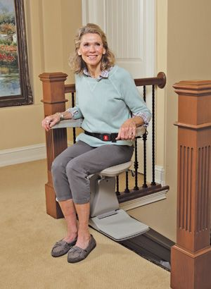 A Swivel Seat Is A Feature That Makes Mounting And Exiting A Stair Lift Safer Available In Power Or Manual A Swivel Sea Stair Lifts Stair Lift Swivel Seating