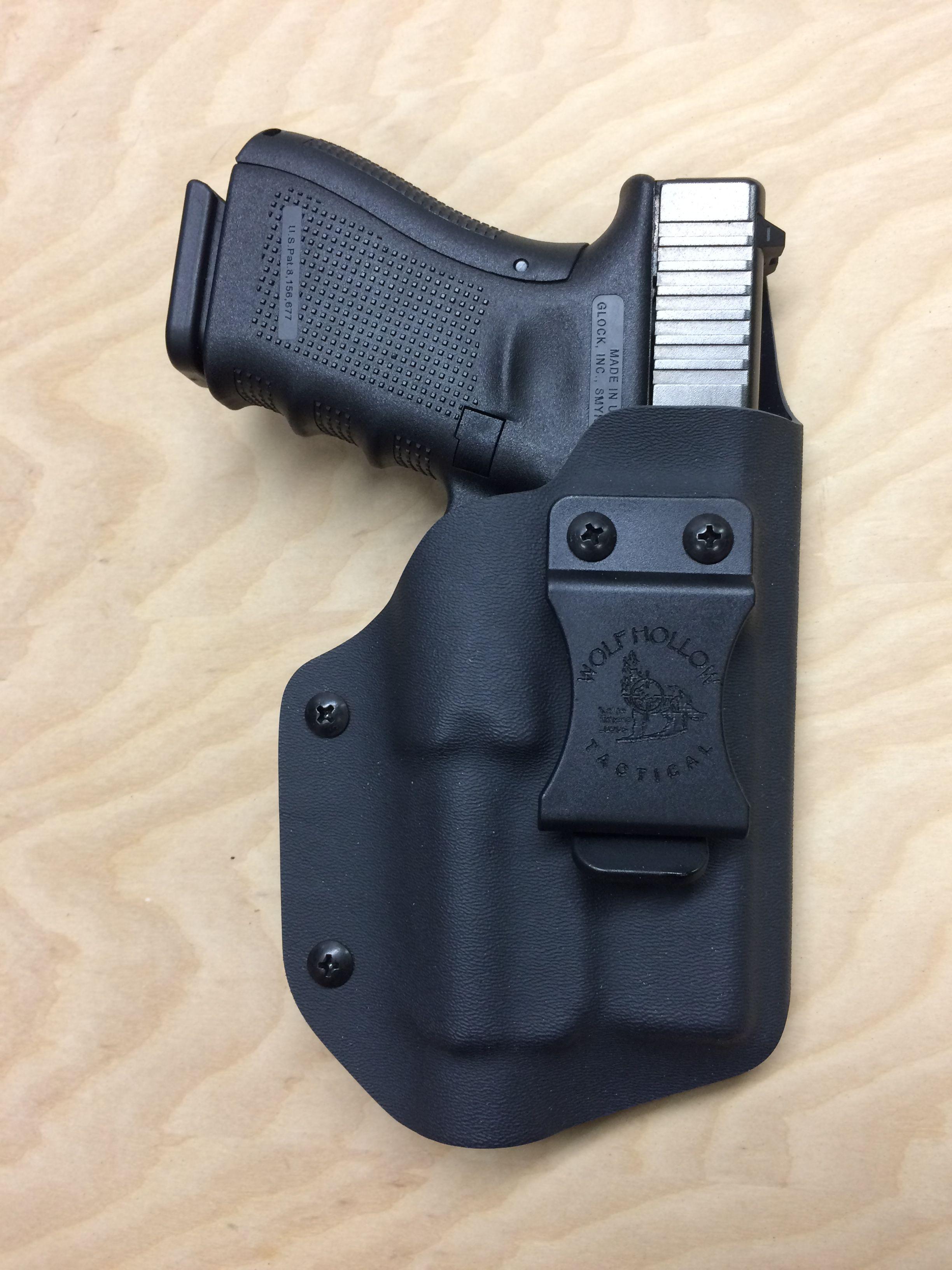 OD Green Kydex Light Holster for Glock 40 Streamlight TLR-2s