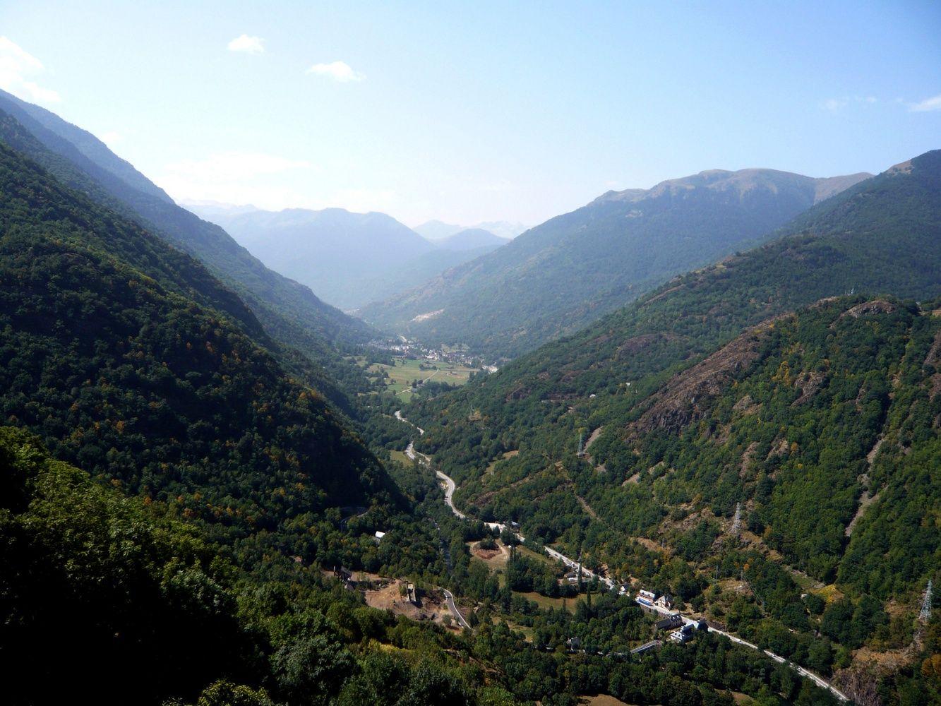 Valle de Arán. Pirineos de Lleida. España