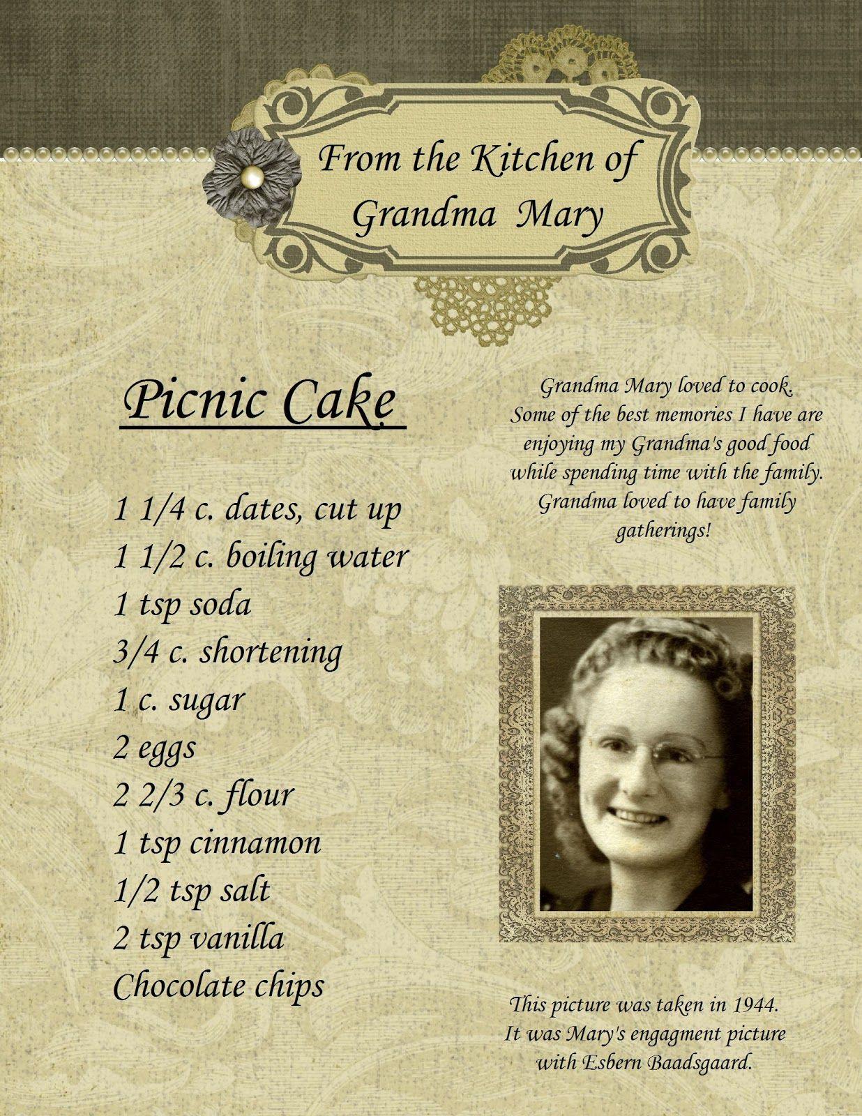page 11 jpg 1236a 1600 cook bake pinterest cake vintage