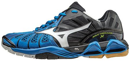 mizuno wave tornado x blue woman