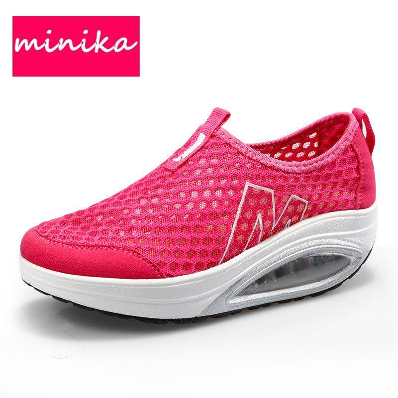 Shoes For Women shake shoes breathable mesh shoes single shoes