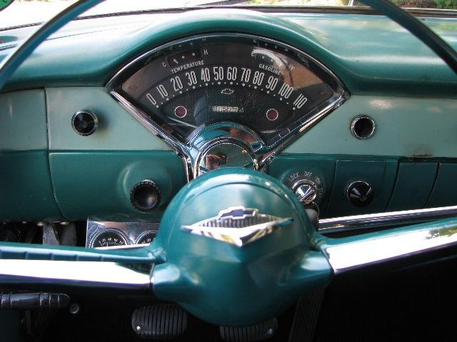 1955 Chevy 210 Dashboard Retro Cars 1955 Chevy Chevy