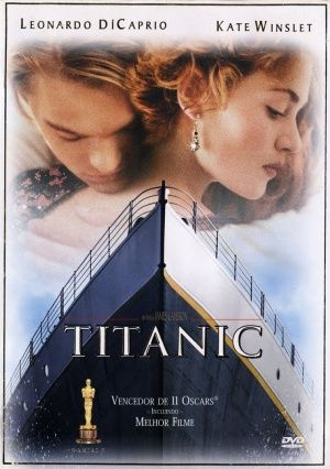 Dvd Cover For Titanic Titanic Titanic Filme Ghost Filme