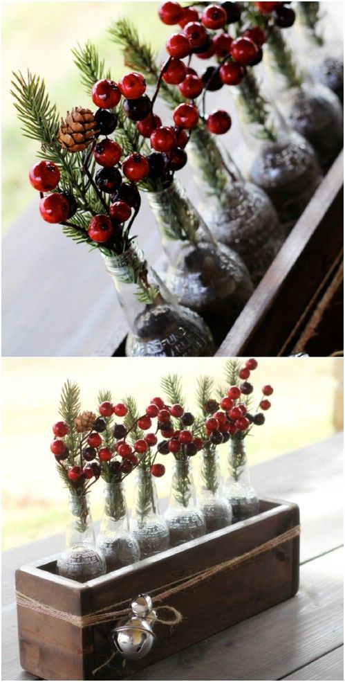 40 rustic christmas decor ideas you can build yourself 40 rustic christmas decor ideas you can build yourself diy crafts solutioingenieria Image collections