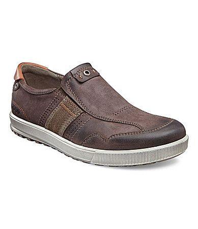 ecco men´s ennio casual slipon sneakers  mens fashion