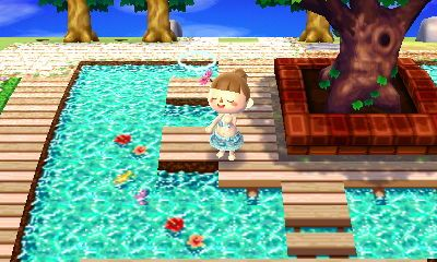 Animal Crossing New Leaf Qr Codes Paths Water とび森 マイ