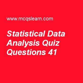 Learn Quiz On Statistical Data Analysis Business Statistics Quiz