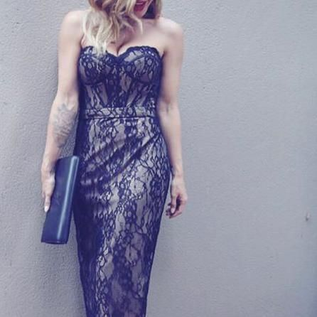imwithem looking stunning in our emelie corset dress