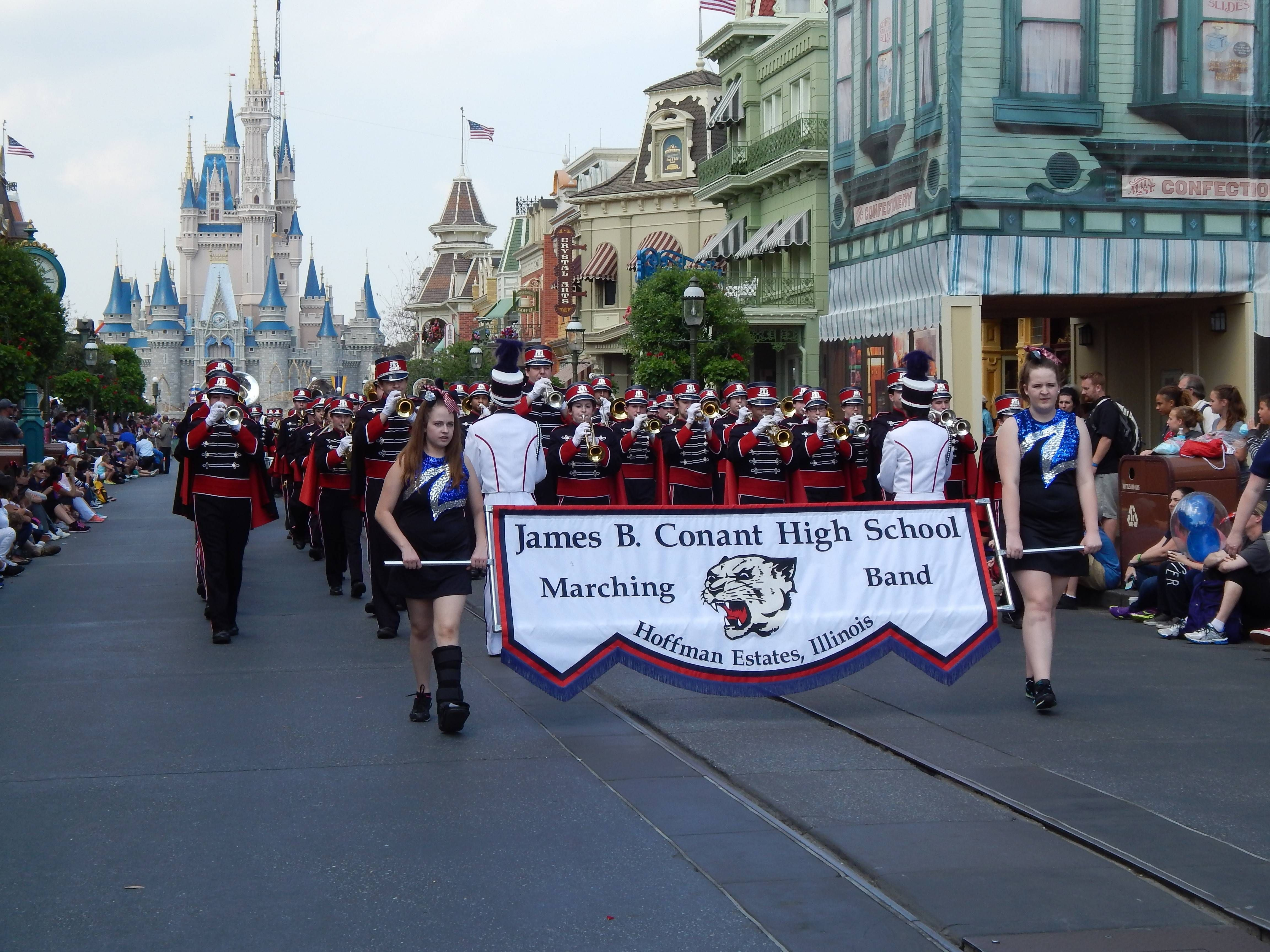 Conant high school band to perform at indy 500 high