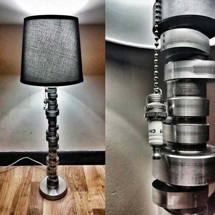 DIY Automotive furniture lamp design ideas | Automotive