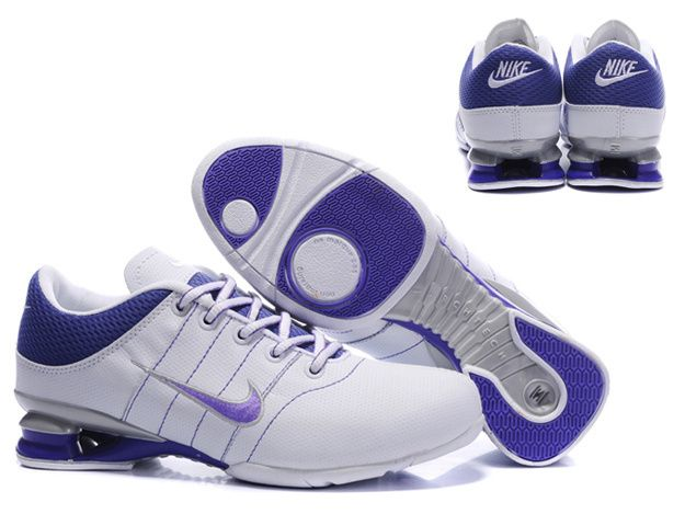 new product 024ed 22732 chaussures nike shox r2 femme (blanc pourpre)