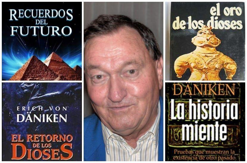 Erich Von Däniken Y Sus Libros De Misterios Extraterrestres Libro De Misterio Libros De Misterio Extraterrestres