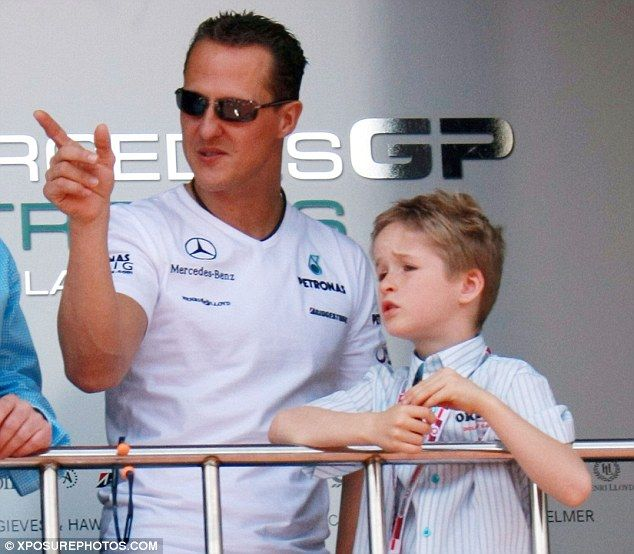 Schumacher Waking Up Very Slowly From Coma Reveals His Teenage