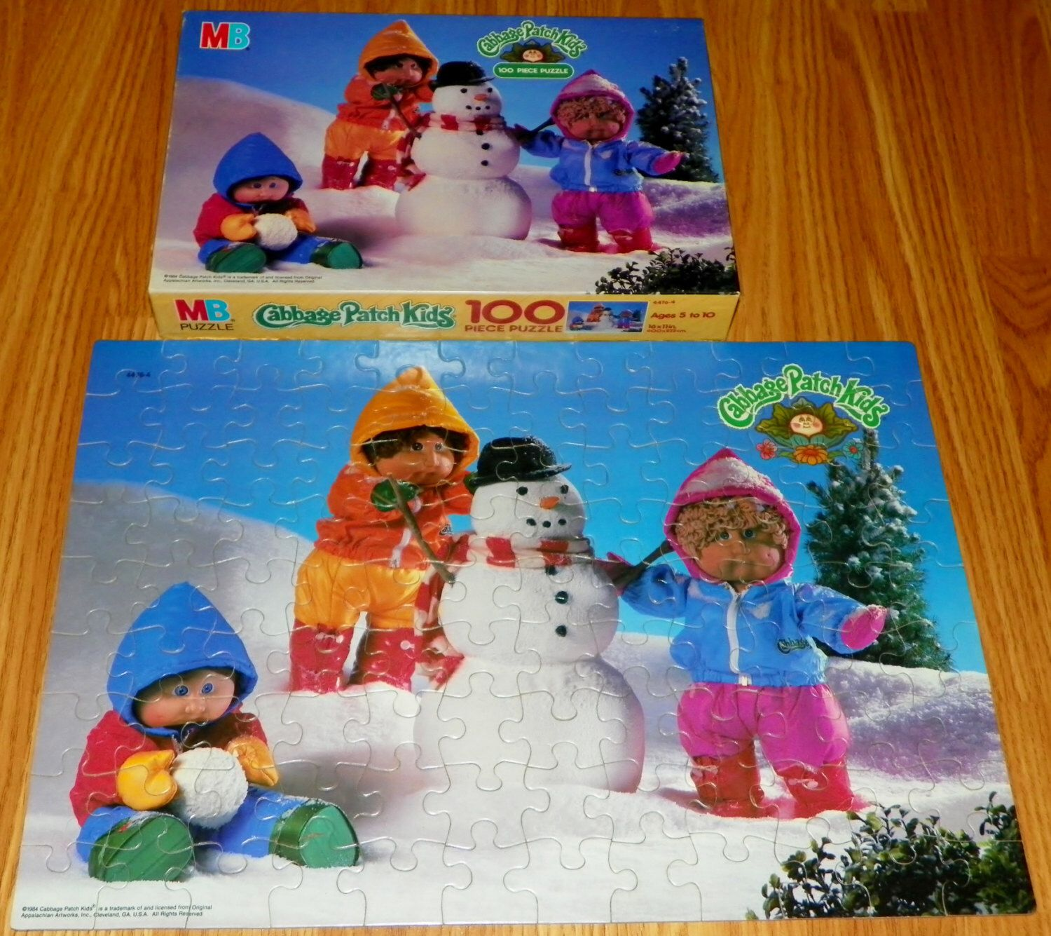 Vintage 1984 Cabbage Patch Kids 100 Piece Jigsaw Puzzle Complete Milton Bradley By Locococostreasures On Etsy Https Cabbage Patch Kids Patch Kids Kids Jigsaw