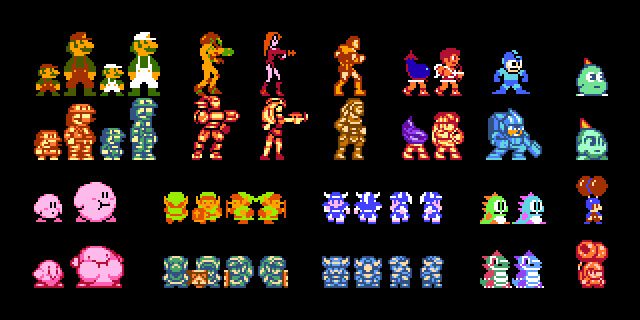 NES Character Revamp by DragonDePlatino on DeviantArt | Boy