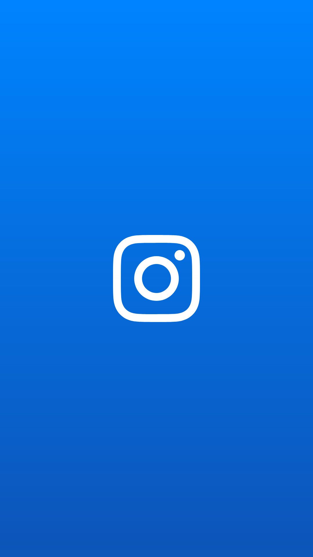 Instagram blue profile pic