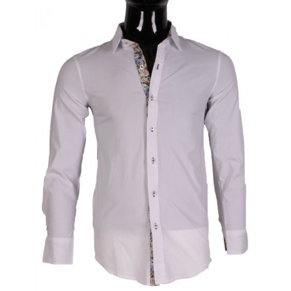 9ef3db87a852f3 CHEMISE STRECHT HOMME PAR TONY MORO AL107 du grossiste et import Dress  Shirt, Male Fashion