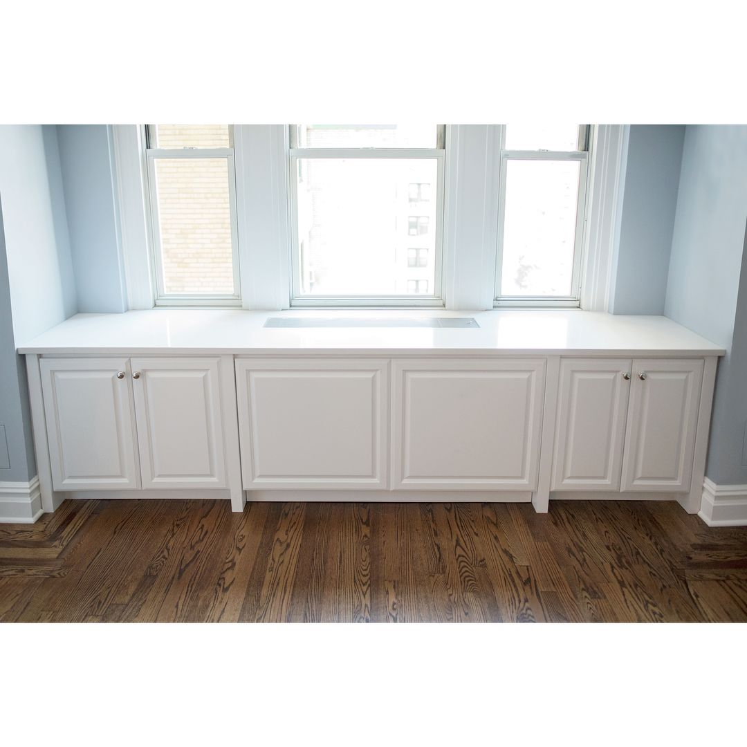 Custom Built In Radiator Covers And Storage Cabinets Add An