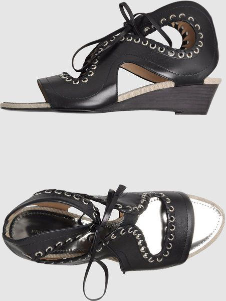 Proenza Schouler design on shoes for You
