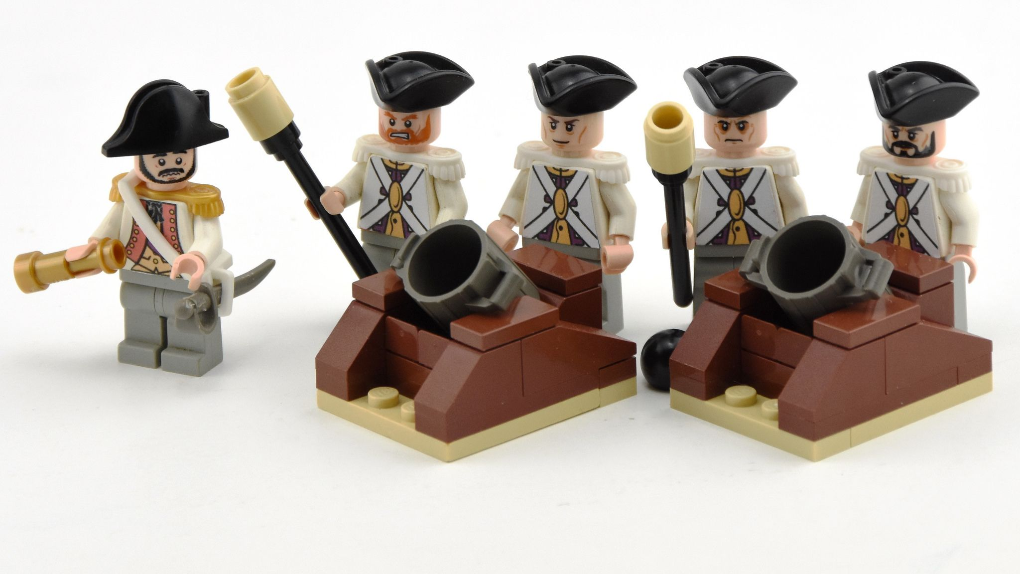 Brickwarriors Military WWII Custom MORTAR Heavy Weapon for Lego Minifigures