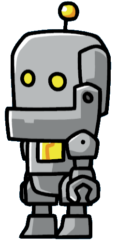 robot scribblenauts - Google Search | Game Art References