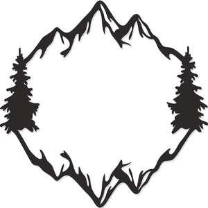 Silhouette Design Store Mountain Range Silhouette Design Design Store Design