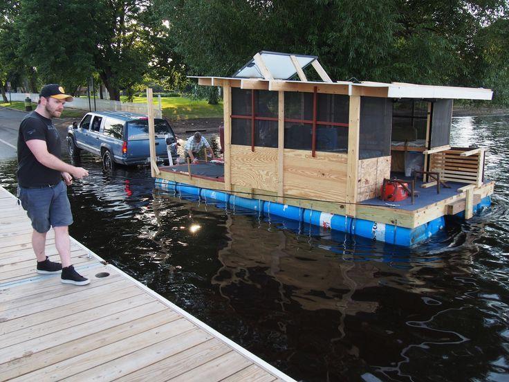 Diy Boat House