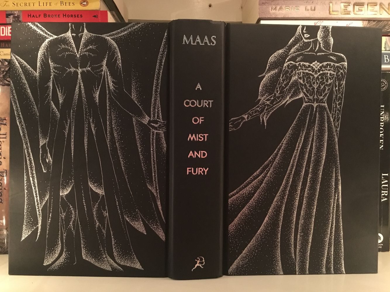 The Full Effect Feyre And Rhysand On A Court Of Mist And Fury
