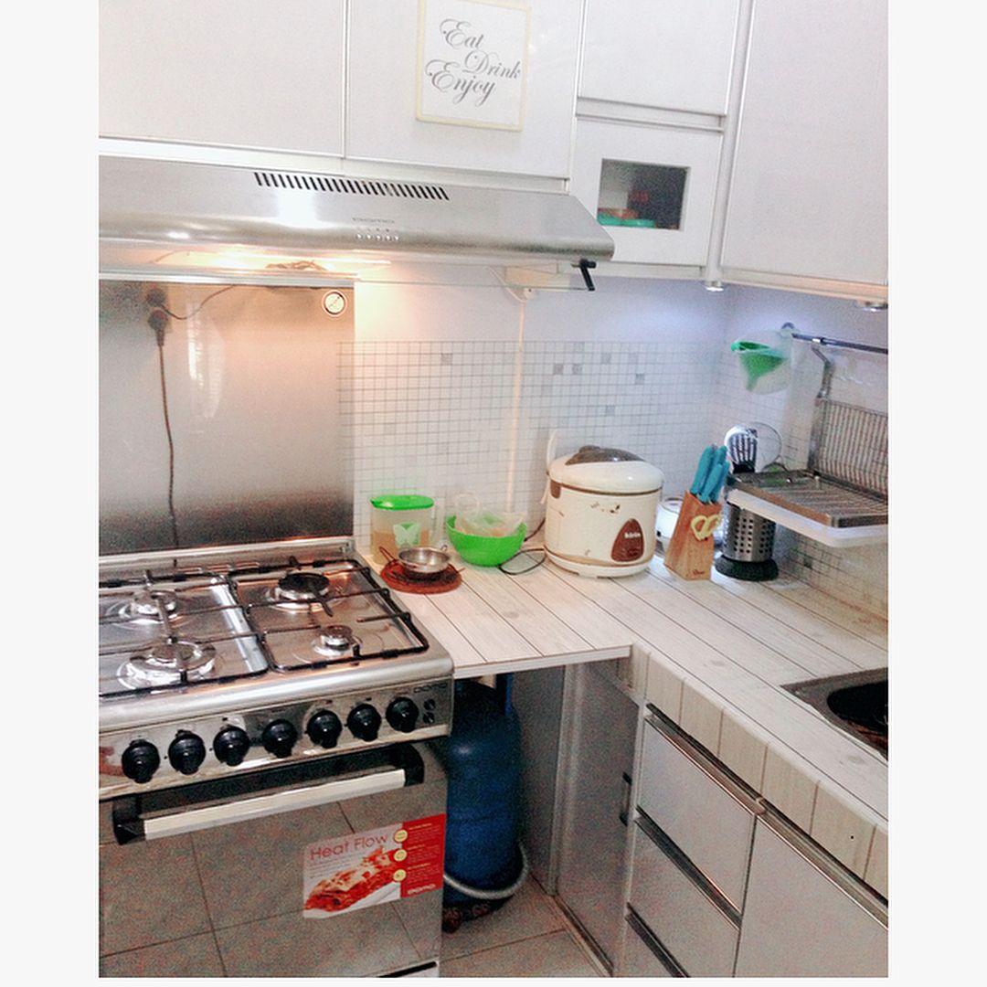 Diy Meja Dapur Yg Sederhana Penting Sesuai Ukuran Dan Kebutuhan Mengingat Ada Lipat
