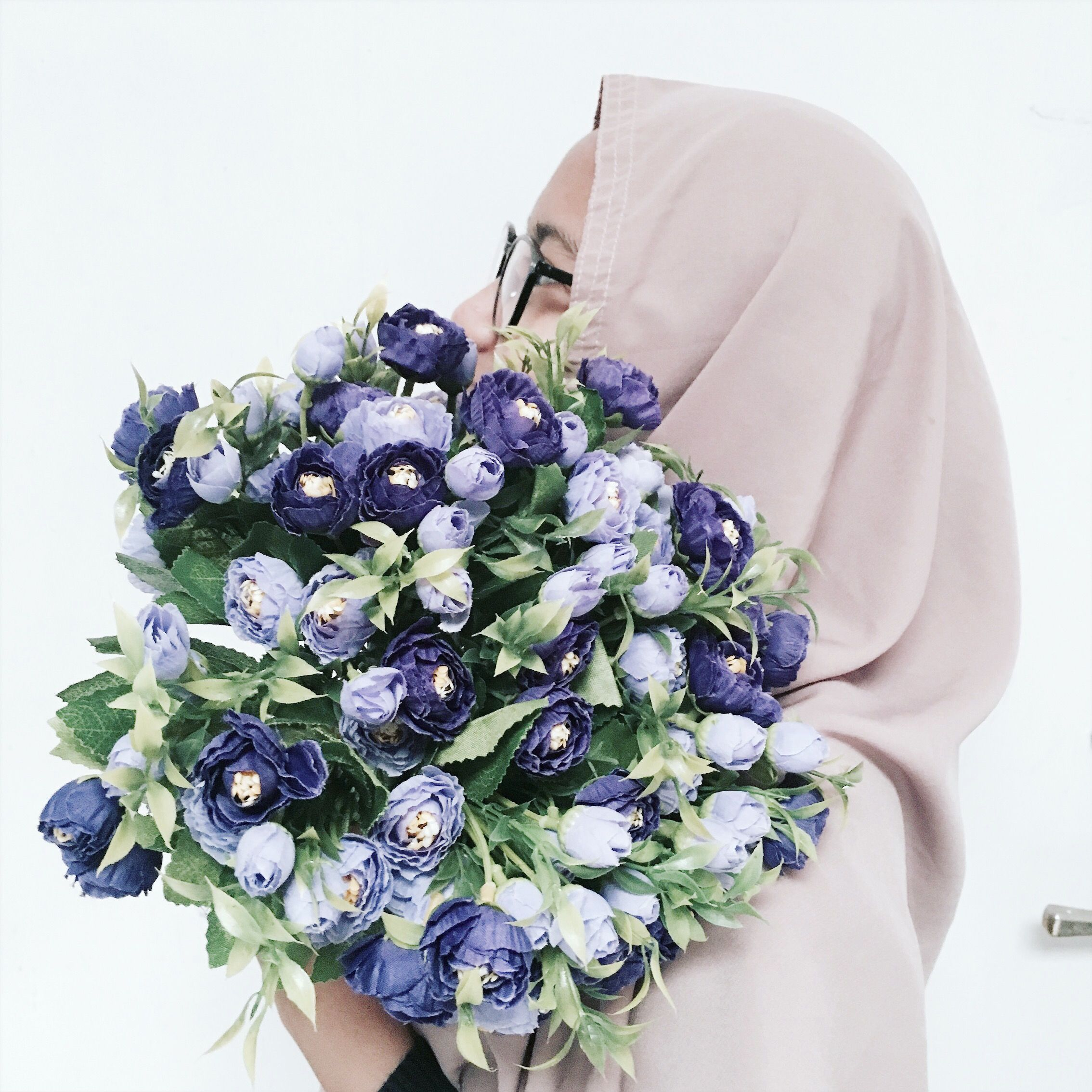Flowers hijab beauty muslim moeslem love tumblr
