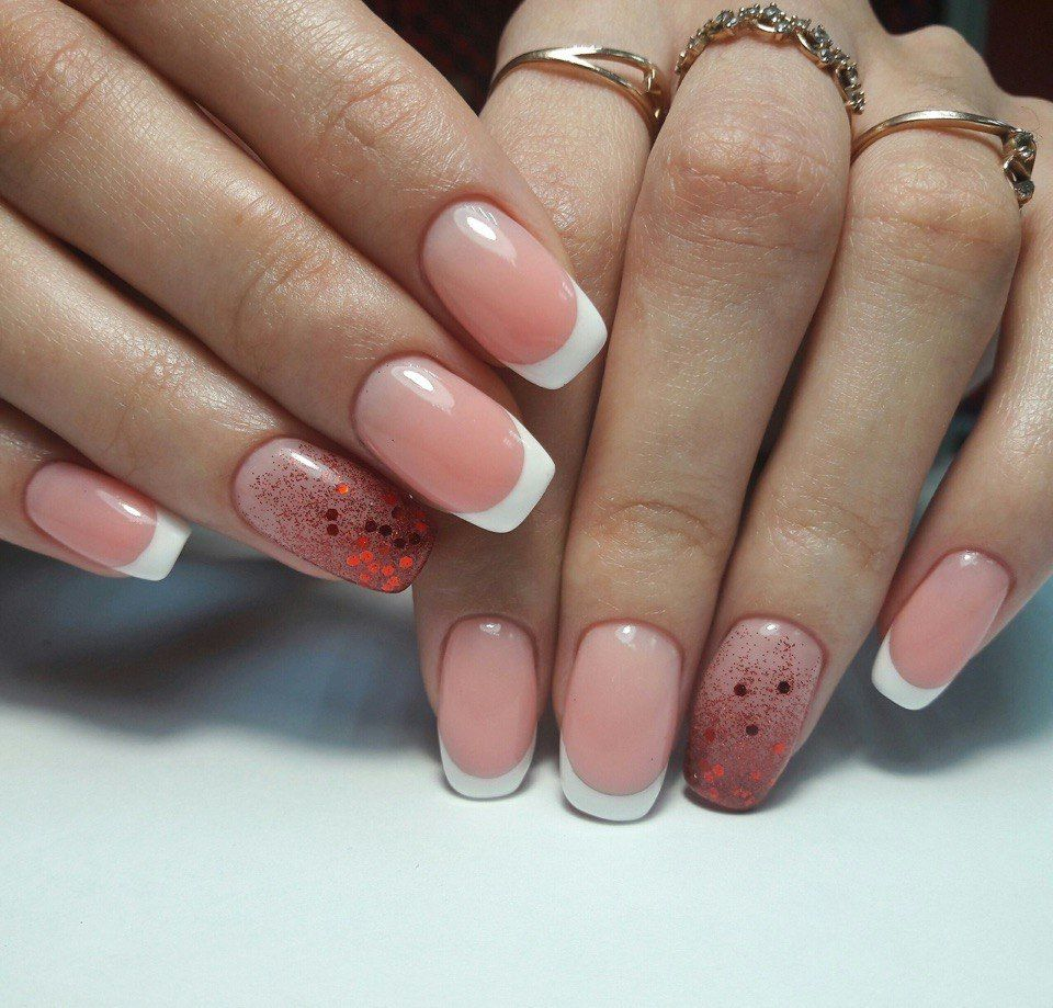Nail Art #3153 - Best Nail Art Designs Gallery   Beige nail, French ...