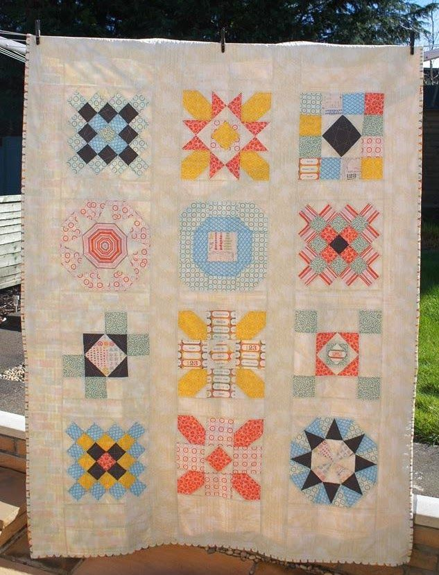 bluepatch quilter: Into the Groove