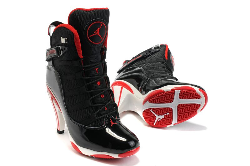 buy online ed566 08b47 heel boots   ... Heels Shoes - Buy Jordan 6 High Heels Shoes, Jordan 6 High  Heels Shoes yessss i love it black and red my fav colors