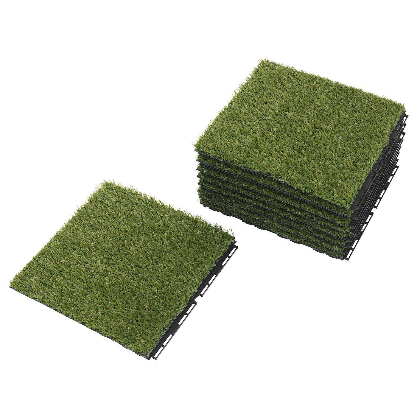 IKEA - RUNNEN Decking, outdoor Artificial grass in 2020 ...