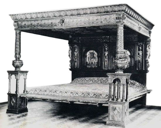 4 Poster Canopy Bed bed of ware | the great four poster bed (4 poster bed) bed of ware