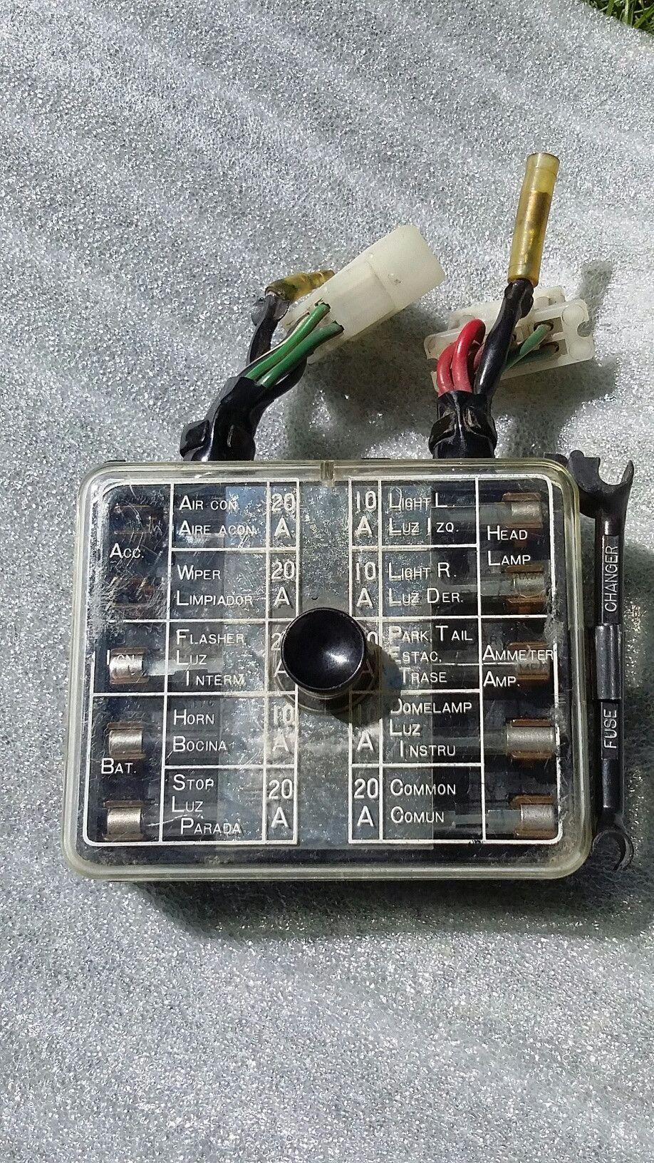 1972 1973 datsun 240z fuse box pinterest products rh pinterest com