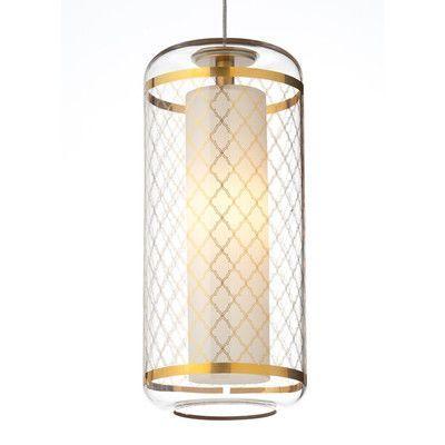Tech lighting ecran 1 light mini pendant shade color gold base finish antique bronze bulb type 90 cri 3000k led
