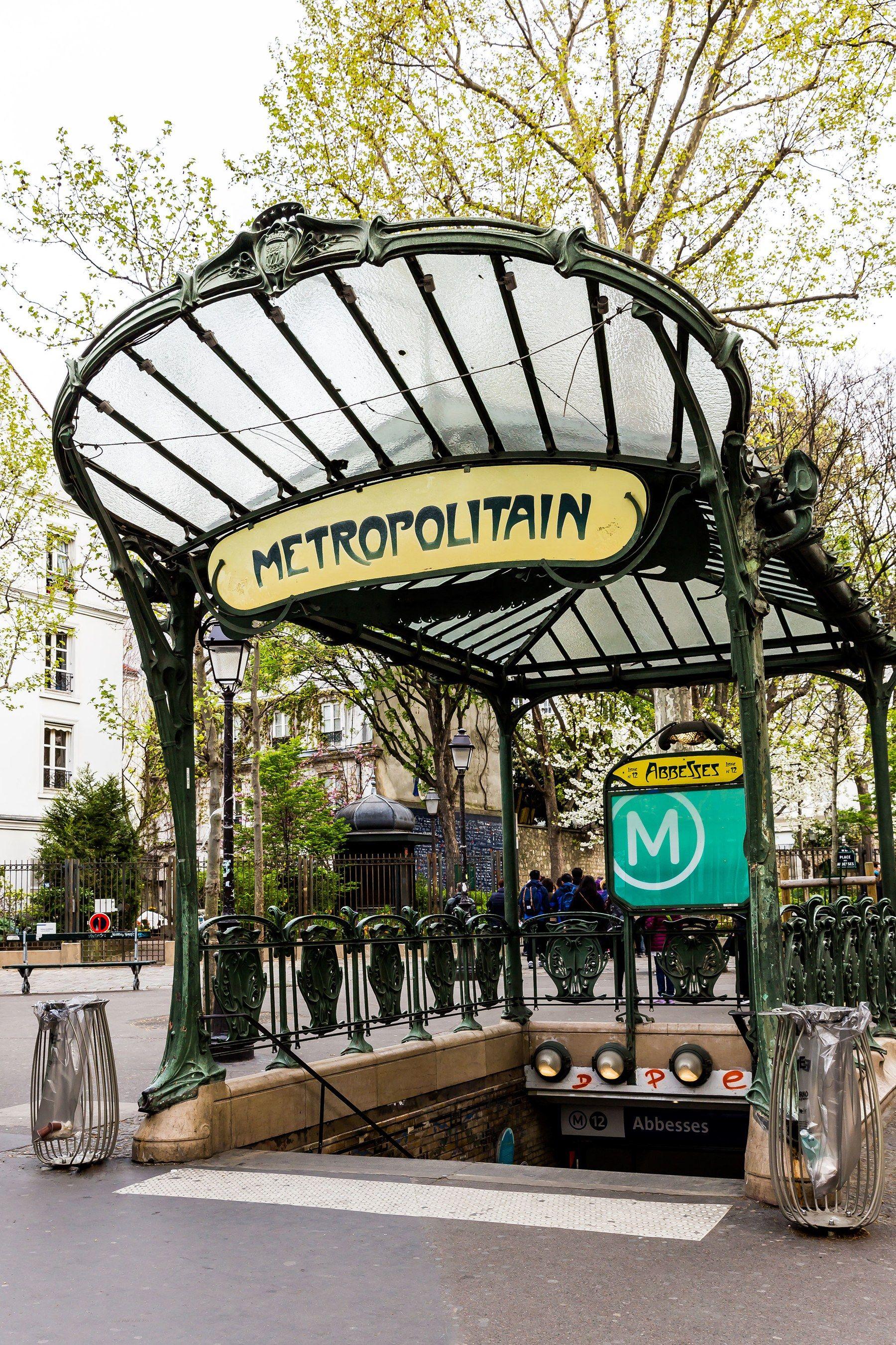 La Subway Map Year Opened.5 Of The Best Art Nouveau Buildings In Paris Art Nouveau Paris