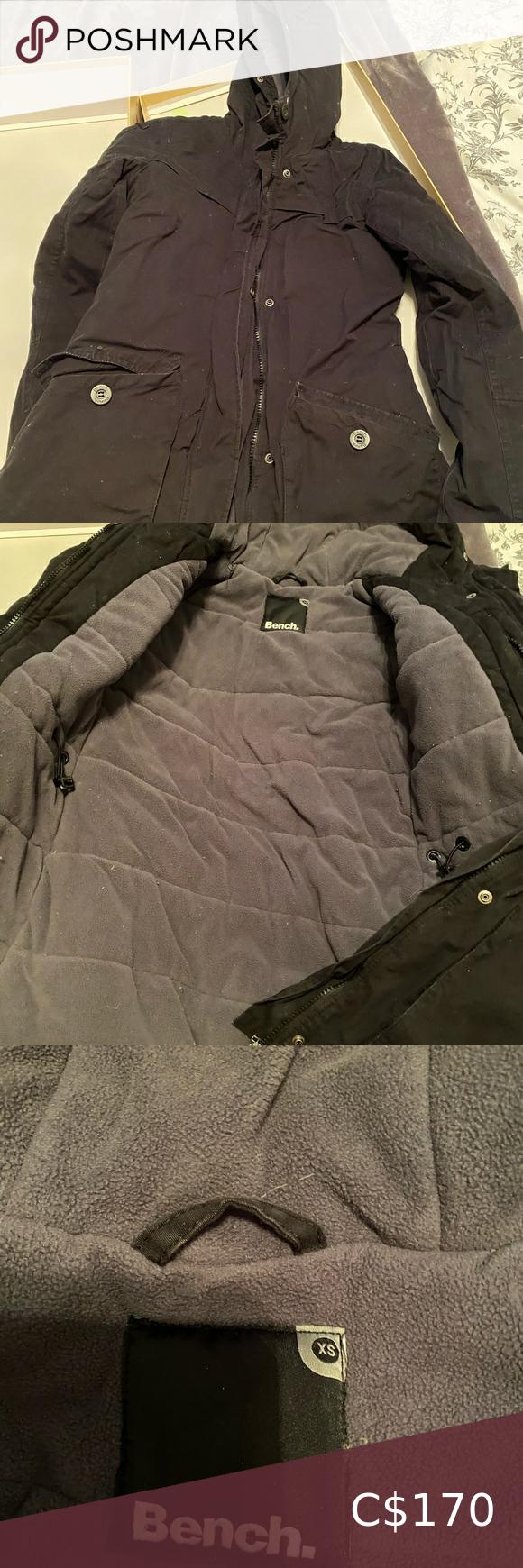 Bench Winter Coat Winter Coat Clothes Design Black Winter Coat [ 1740 x 580 Pixel ]