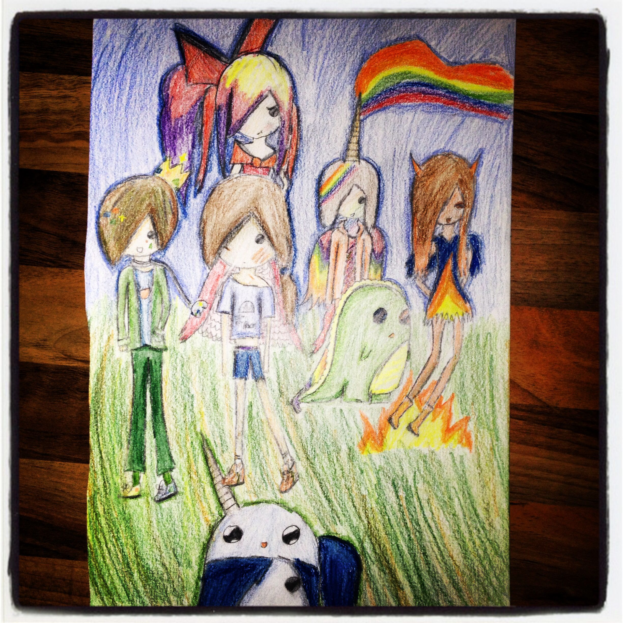 Psychedelic adventure time ocs adventure time pinterest