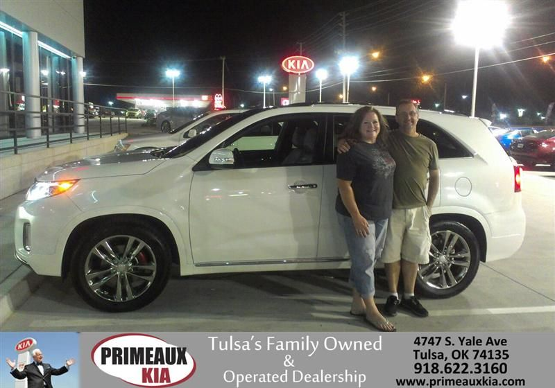 WE LOVED OUR EXPERINCE AT PRIMEAUX KIA OF TULSA. EDDIE