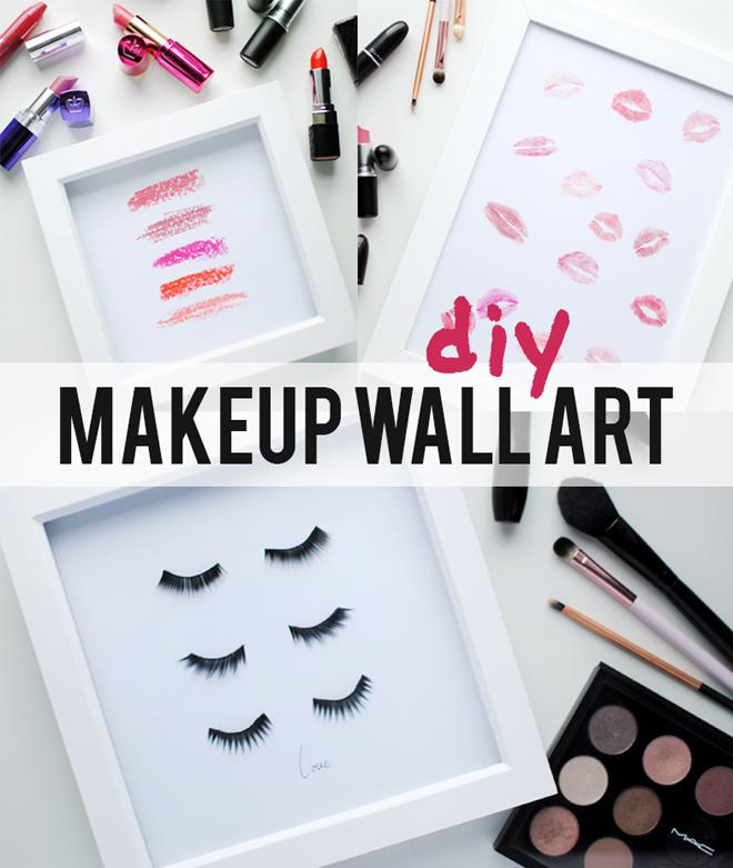 DIY Makeup Beauty Prints