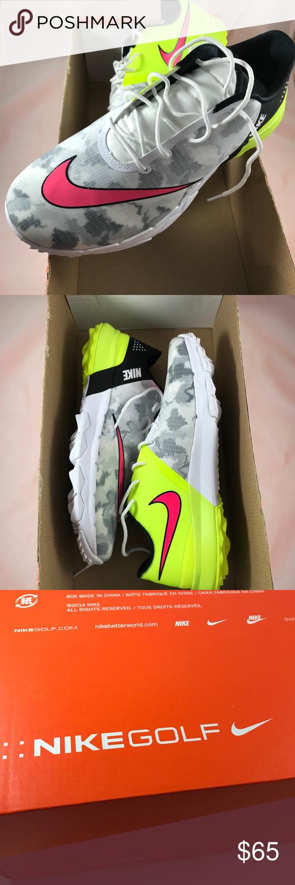 2cf10c6fcac6 Nike FI Flex Men s Golf Shoes Athletic Sneaker NWT Nike FI Flex Men s Golf  Shoes Athletic