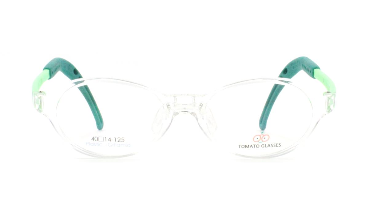 TOMATO TKAC_40-14: CLEAR / GREEN, ORANGE, WHITE ☆ Oval ☆ Full ...