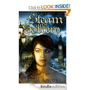 Steam and Sorcery, YA Paranormal/Steampunk, book three of Blood and Gold